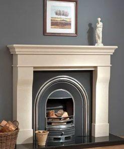 Lyonette Marble Fireplace