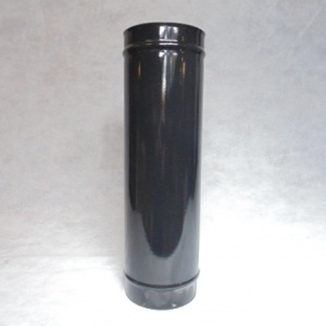 Gloss Black Enamel Flue Pipe