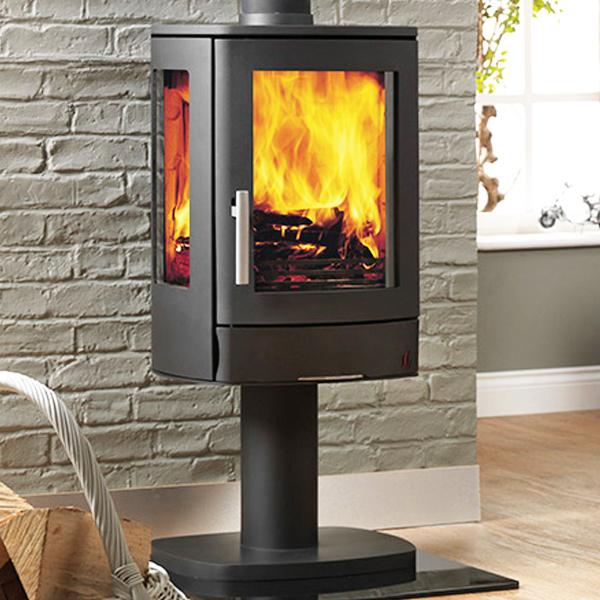 Acr Neo 3p Pedestal Multifuel Wood Burning Stove
