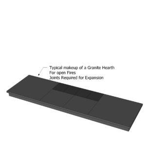 Black Granite Hearths