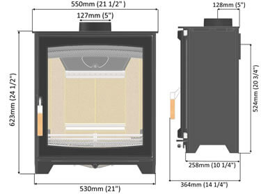 parkray-aspect-5-slimline-stove-dimensions