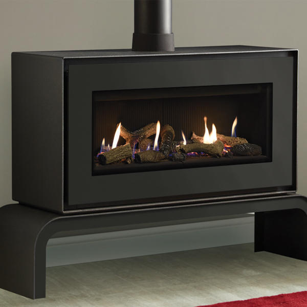 Gazco Studio 2 Free Standing Gas Fire Spratt Fireplaces