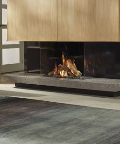 3 Sided Gas Fires