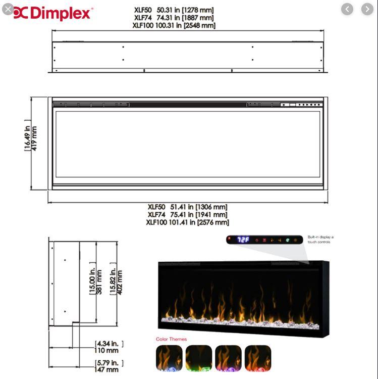 Dimplex XLF50 Diagram
