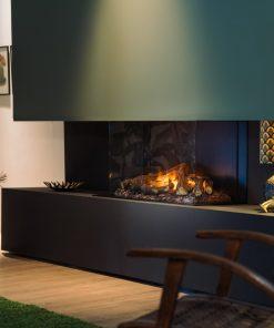 Faber e-MatriX 800/500 III Triple Sided Electric Fire