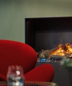 Faber e-MatriX 800/500 II Double Sided (Corner) Electric Fire