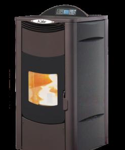 Kalor Ada 28B Wood Pellet Boiler Stove Black